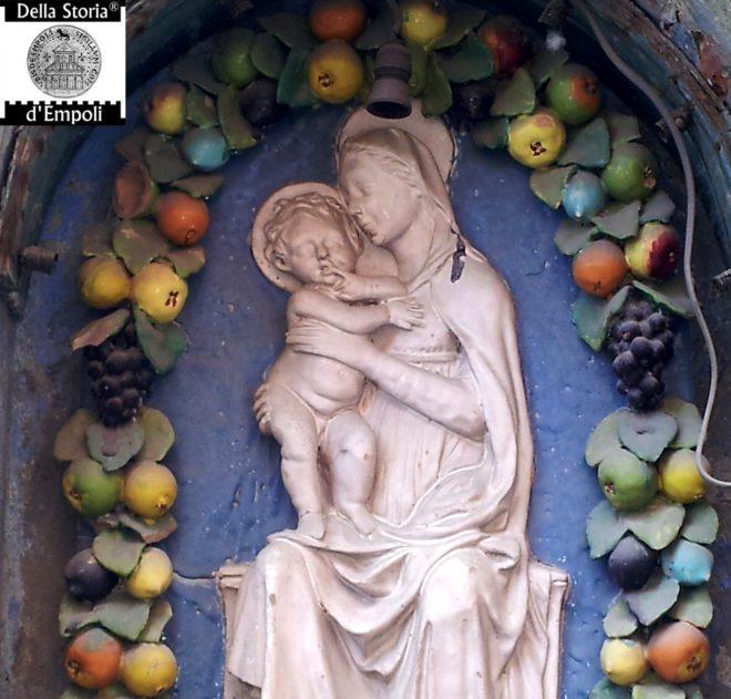 Empoli - Tabernacolo madonna al Magazzin del sale particolare