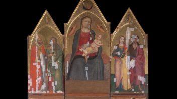 Il Rotary Club di Empoli finanzia il restauro del trittico di Bicci di Lorenzo