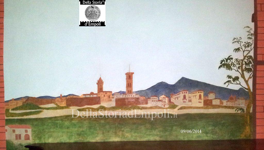 Empoli - Veduta Di Fine Ottocento