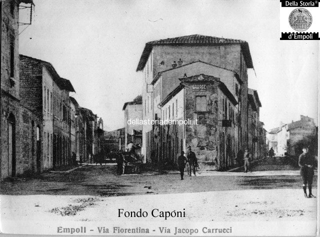Fondo Caponi Empoli, Vol 1 Pagina 8: Le Principali Strade Di Accesso Ad Empoli