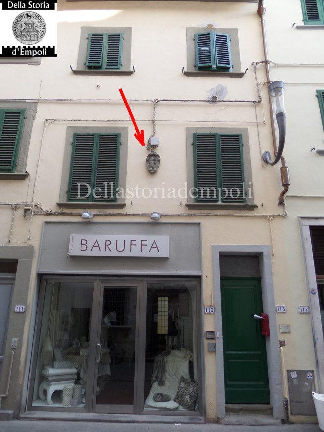 Lo Stemma Dell'Opera Di Sant'Andrea In Via Ridolfi 115 A Empoli