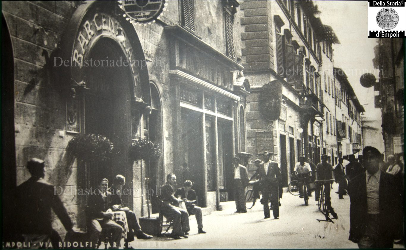 Empoli, Via Ridolfi E Il Bar Centrale
