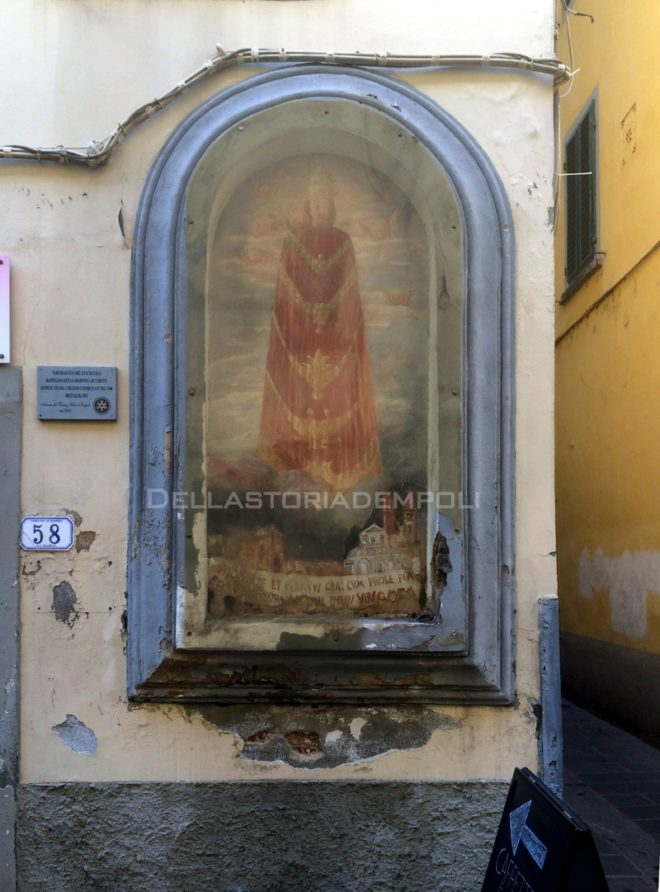 Empoli - Via Ridolfi Tabernacolo Madonna di Loreto 02-10-2015 (1)