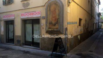 Save the tabernacolo in via Ridolfi