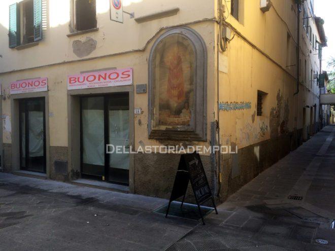Empoli - Via Ridolfi Tabernacolo Madonna di Loreto 02-10-2015 (2)