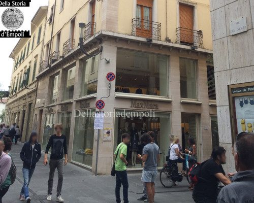 Empoli – Via Ridolfi incrocio Via del Giglio Max Mara 13-09-2015