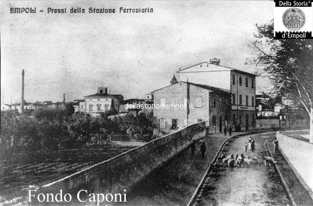 Empoli Via Ridolfi pressi incrocio Via Verdi 2 con istituto orfani san girolamo