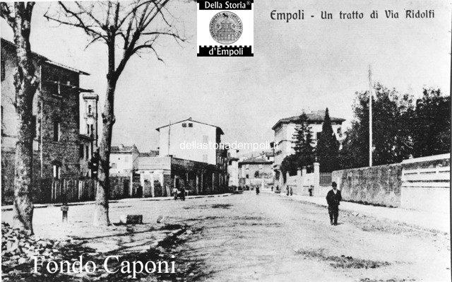 Fondo Caponi Empoli, Vol 1 Pagina 11:  Vedute Di Via Ridolfi, Viale Della Rimembranza E Piazza Ferrucci
