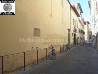 Via de' Neri, Empoli. Foto di C. Pagliai