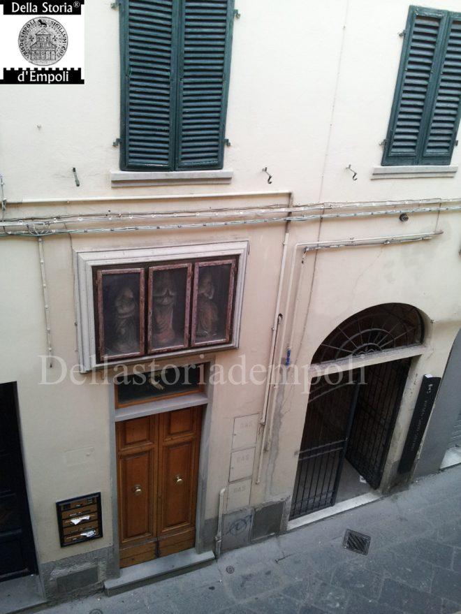 Empoli - Via de Neri tabernacolo vicino il Chiassetto (3)