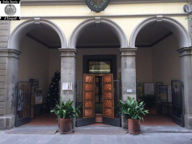 Empoli Via del Giglio palazzo comunale Natale 2015