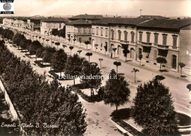 Empoli - Viale Buozzi 1958