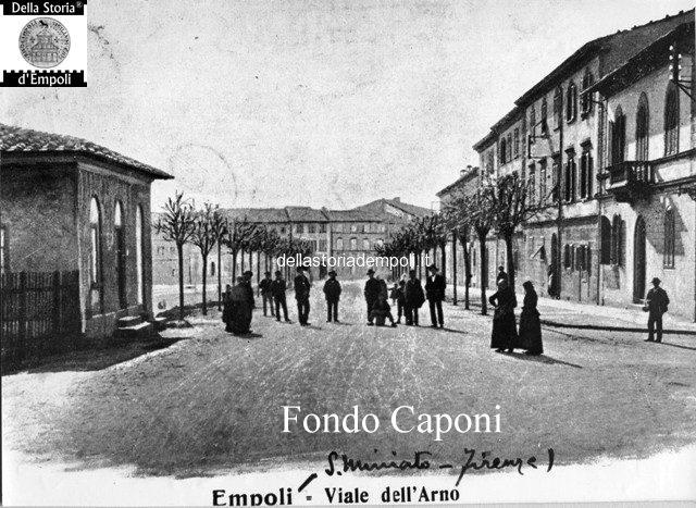 Fondo Caponi Empoli, Vol 1 Pagina 14: Il Ponte Vecchio E I Suoi Accessi