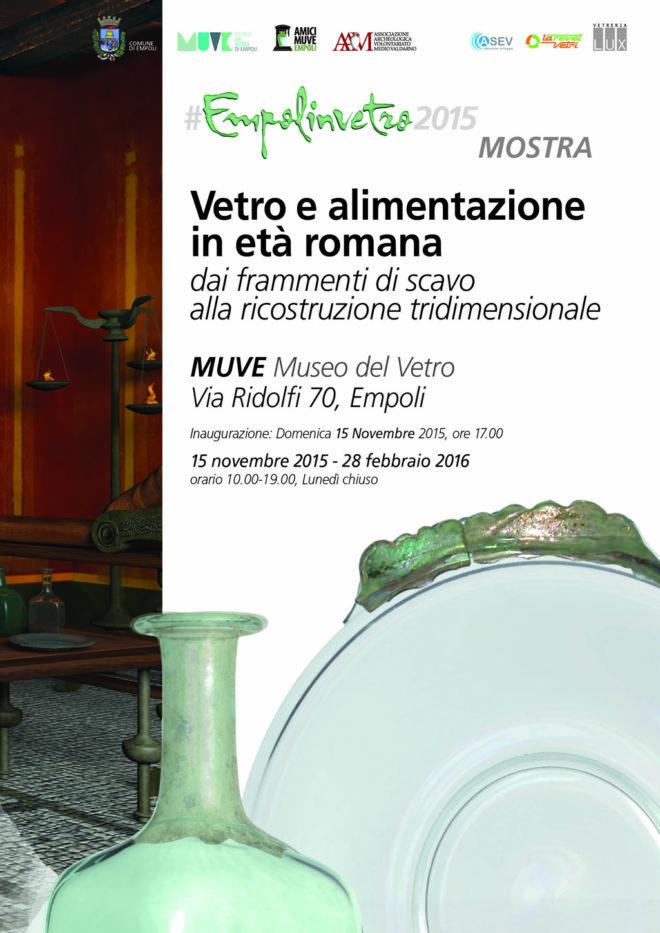 Empoli in vetro e alimentazione romana 2015