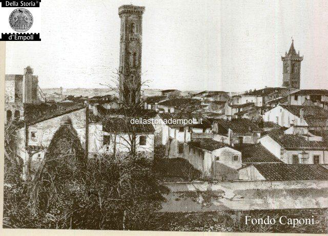 Empoli - panorama da est con torrino torrione e campanile S. agostino