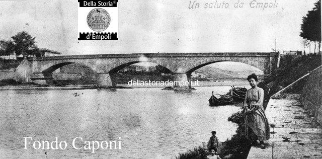 ponte vecchio visto da valle