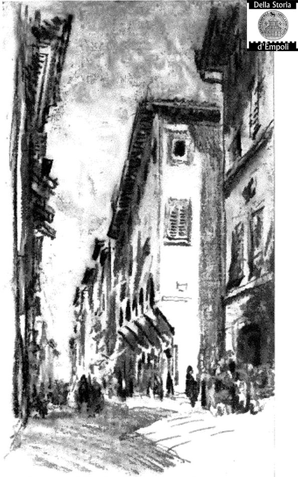 Empoli Via Del Giglio – Maurice Hewlett The Road In Tuscany 1904 Pag 39