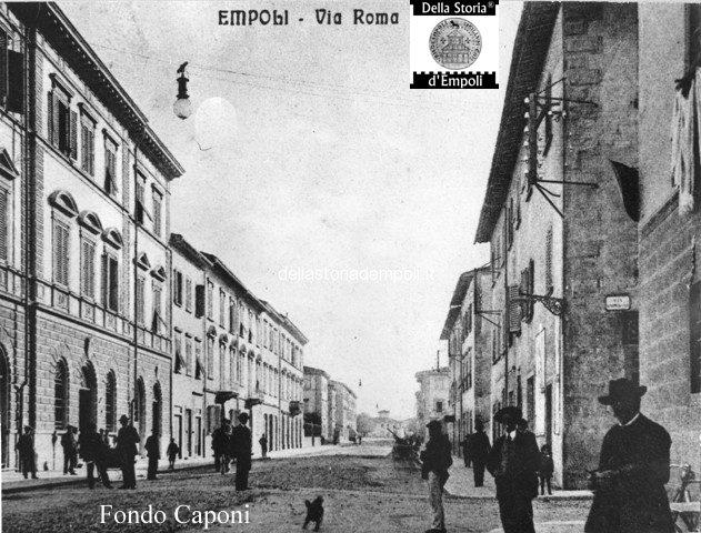 Empoli via roma palazzo delle poste