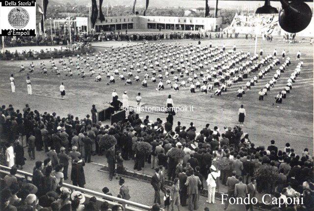 Esercizi ginnici allo Stadio Martelli e la Mostra delle attività empolesi 1939 3