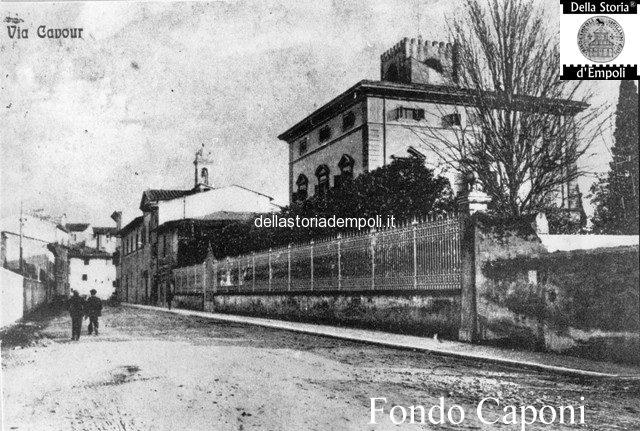 Fondo Caponi Empoli, Vol 1 Pagina 18: La Ex Villa Pini, Via Mazzini, Via Giuseppe Del Papa, Piazza Gamucci
