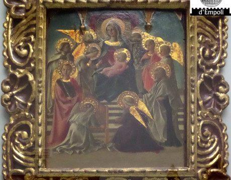 Filippo Lippi Madonna in trono