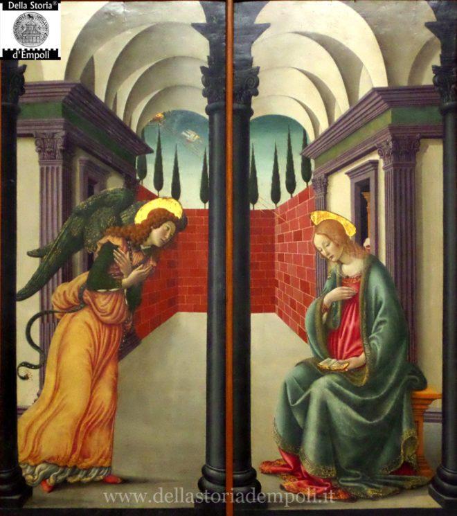 Francesco Botticini -Annunciazione