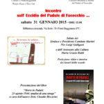 Incontro sull'Eccidio del Padule di Fucecchio: Claudio Biscarini