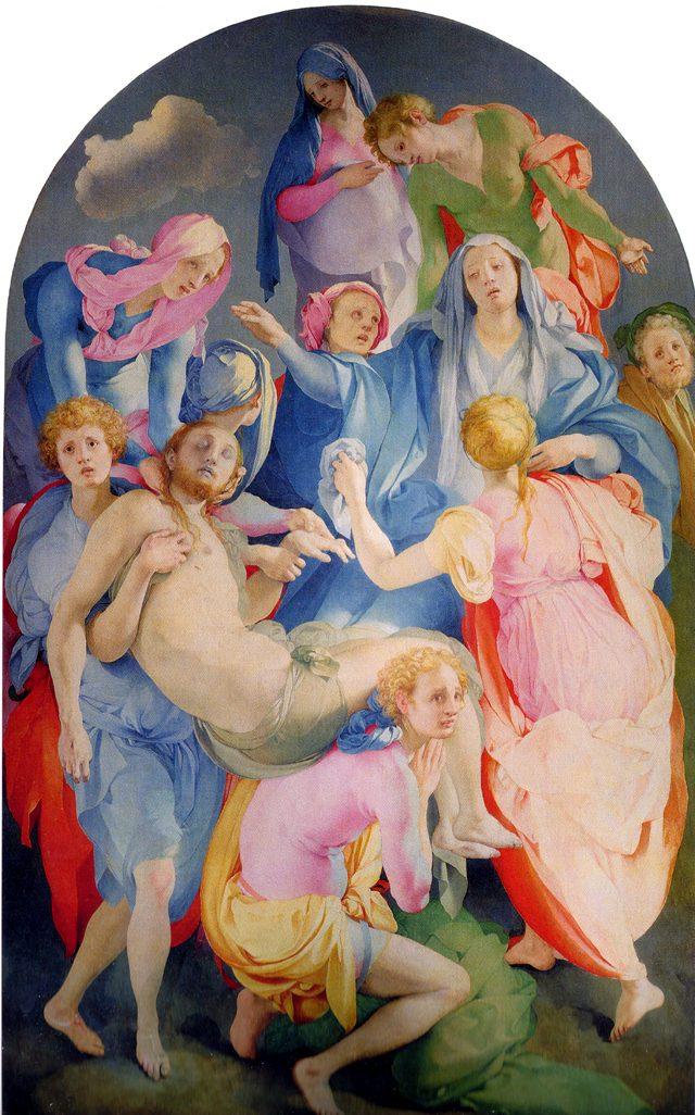Jacopo Pontormo – Deposizione