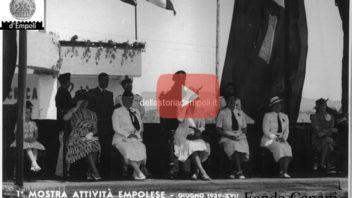 Empoli Fascista: 12 Luglio 1939, la principessa Maria Josè visita la Mostra attività empolesi