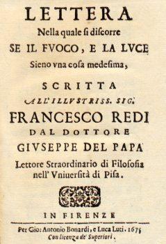 Lettera nella quale si discorre 1675