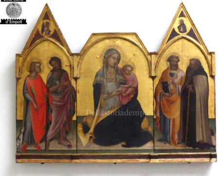 Lorenzo Monaco – 1404 – Trittico con Madonna con bambino