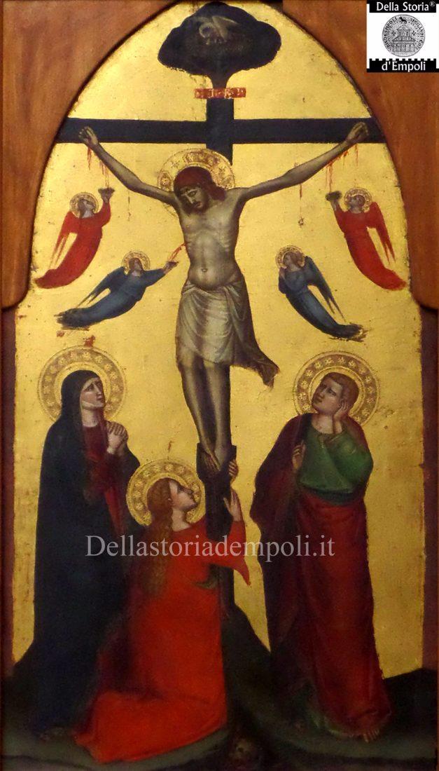 Lorenzo di Bicci, Crocifissione con i Dolenti e Maria Maddalena