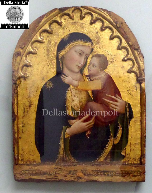Madonna Col Bambino 1393 Mariotto Di Nardo Di Cione.