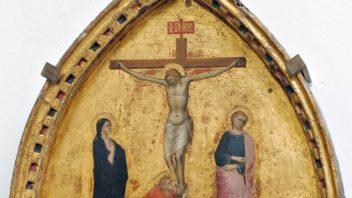 Dal Museo della Collegiata la 'Madonna del Latte' di Ambrogio di Baldese in prestito a Parma