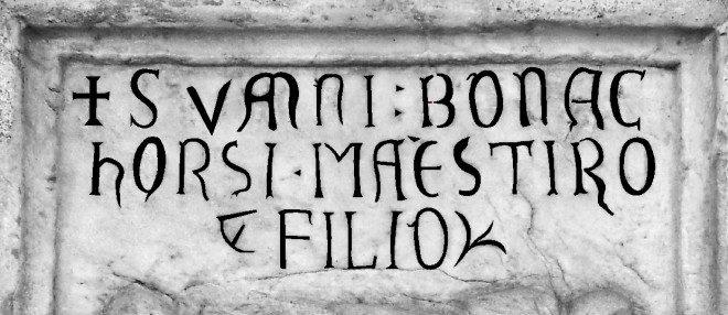 Marmo di Magolo: interpretazione dei caratteri