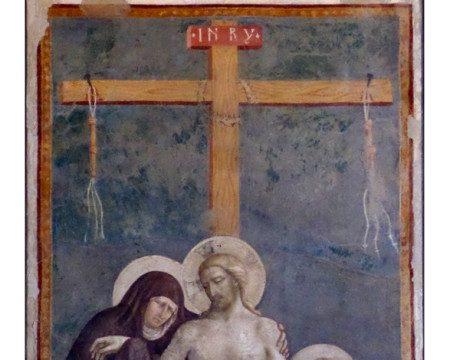 Masolino da Panicale – Cristo in pietà, 1424 ca.