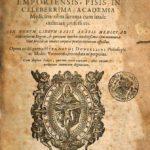 Medicina olim fumma cum laude ordinarii professoris