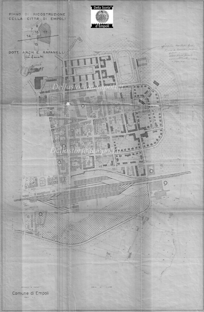 Piano Di Ricostruzione - Ponzano, Pietrafitta E Naiana