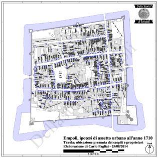 Tavola ubicativa dei Cespiti e dei Possessori