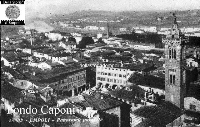 Panorama dal campanile di S. Agostino