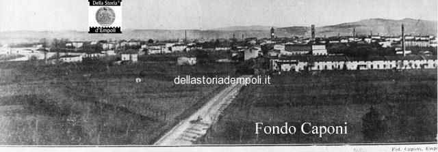 Panorama di Empoli dal campanile di S. Maria