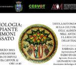"""Archeologia: le piante testimoni del passato"""", 28 Marzo 2015 ore 16.00"""