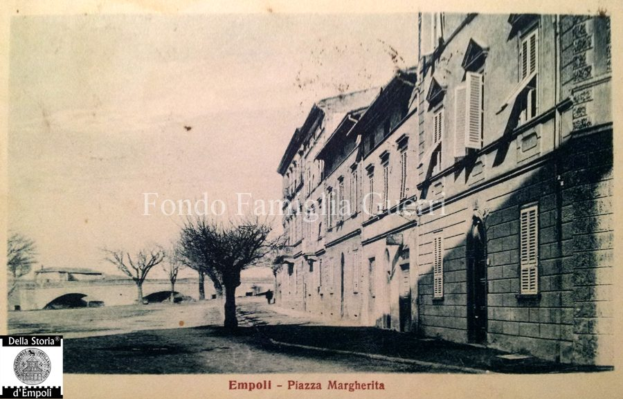Empoli, Foto D'epoca: Piazza Margherita Oggi Gamucci
