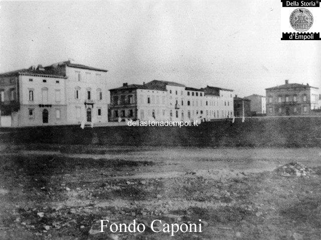 Fondo Caponi Empoli, Vol 1 Pagina 17: La Piazza Umberto I° Oggi Piazza Matteotti