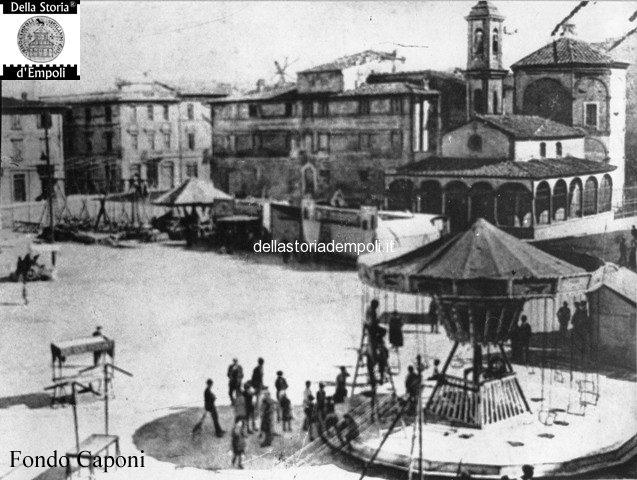 Fondo Caponi Empoli, Vol 1 Pagina 5:  Piazza Vittorio Emanuele II° Oggi Piazza Della Vittoria