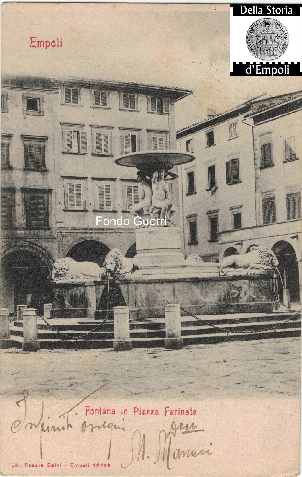 Piazza Dei Leoni, 1921…