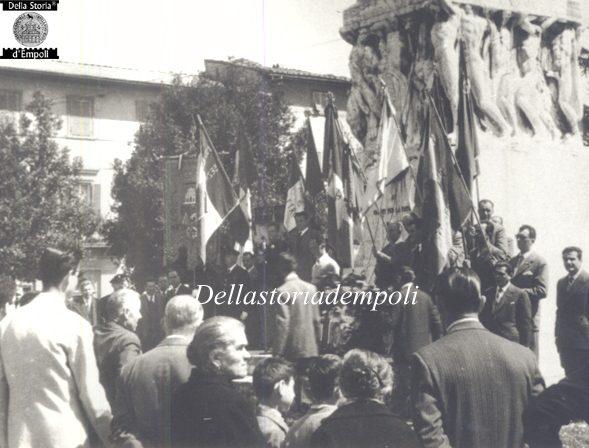 Piazza della Vittoria commemorazione