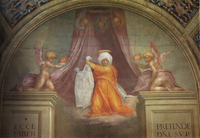 Pontormo, Veronica, 1514 - Wikipedia, dominio pubblico