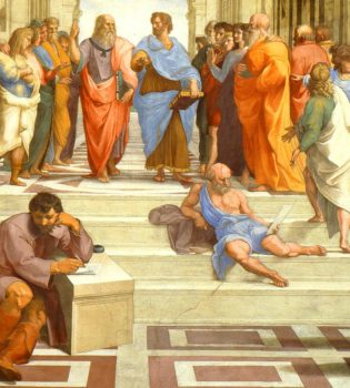 Raffaello, La Scuola Di Atene 1509-1510 - Wikicommons Pubblico Dominio