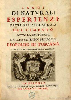 Saggi del Cimento 1667